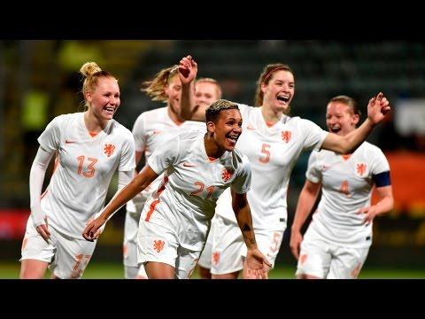 Highlights Zwitserland - Oranjevrouwen (2/3/2016)
