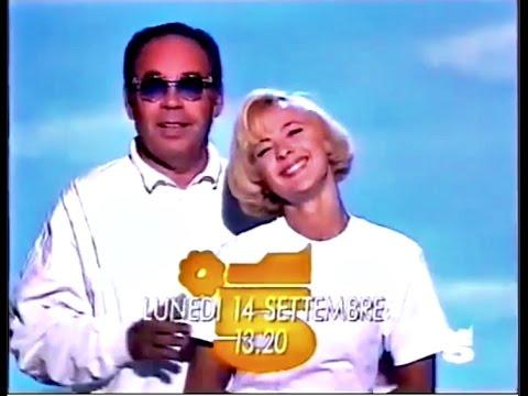 Promo Tv- NON è LA RAI con GIANNI BONCOMPAGNI, Roberta Carrano e Samantha Dell'Acqua 1992