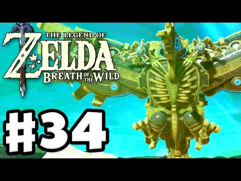 Divine Beast Vah Medoh! - The Legend of Zelda: Breath of the Wild - Gameplay Part 34