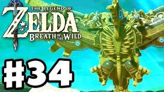 Divine Beast Vah Medoh! - The Legend of Zelda: Breath of the Wild - Gameplay Part 34