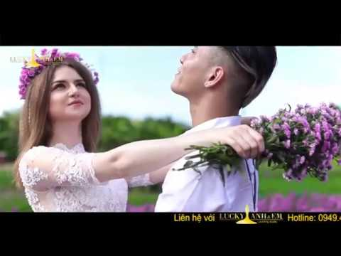 Hình cưới Hồ Cốc độc đáo cùng Lucky Anh&Em