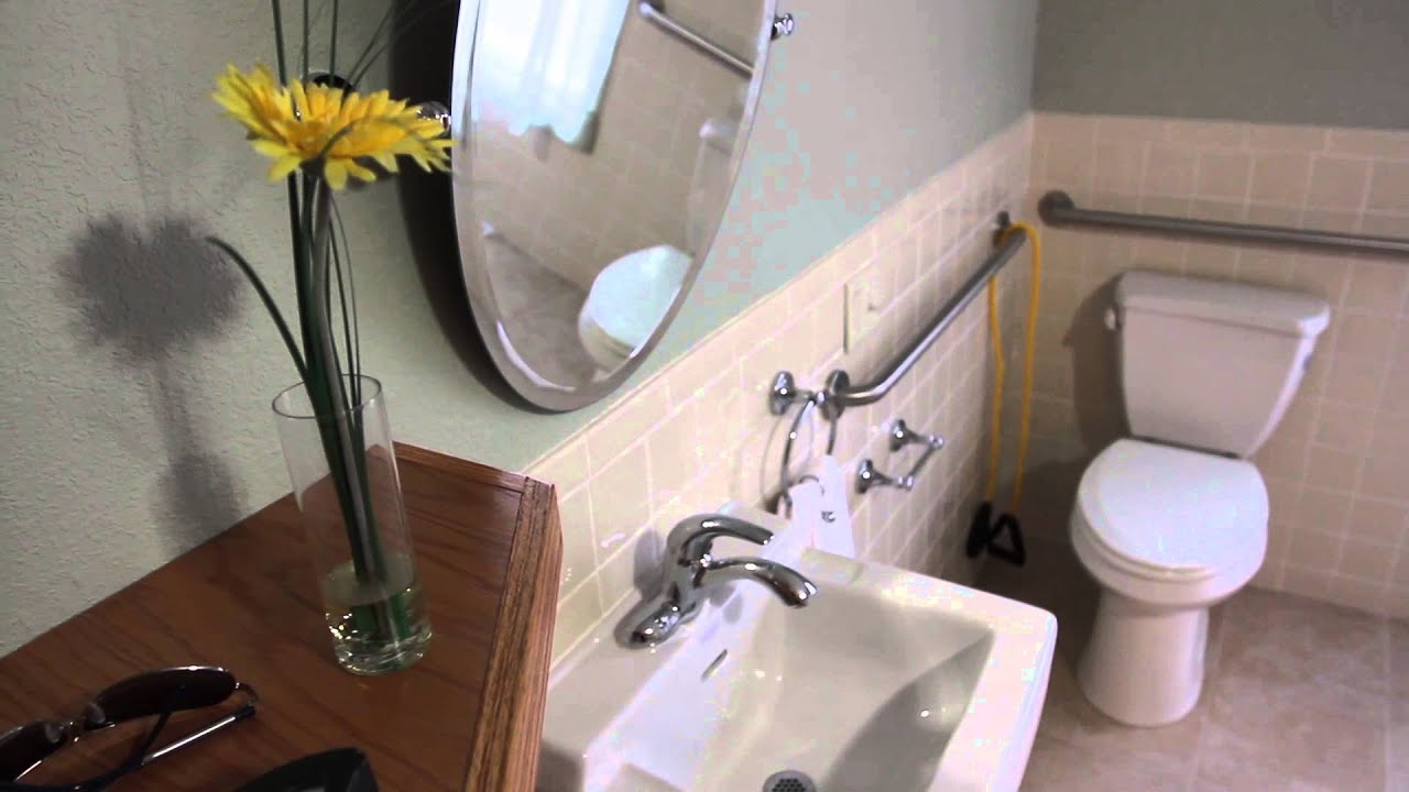 bowers plumbing company ada compliant bathroom installation - youtube