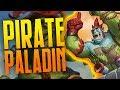 Pirate Paladin! | Rastakhan's Rumble | Hearthstone