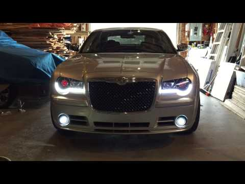 chrysler 300c led sequential signal and daytime youtube. Black Bedroom Furniture Sets. Home Design Ideas