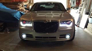 Chrysler 300c led sequential signal and daytime