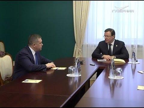 Главу регионального пограничного управления ФСБ представили Дмитрию Азарову