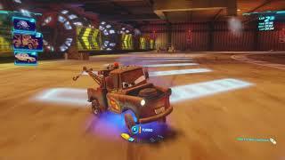 BACKWARDS CHALLENGE in Cars 2!   WhitePotatoYT!