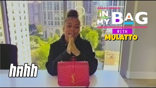 Mulatto Refuses to Take Out Her Credit Cards Because Scammers Will Screenshot | HNHH's In My Bag