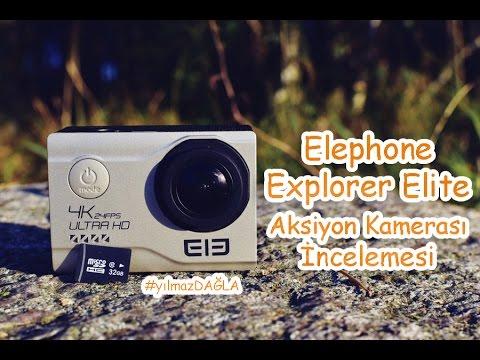 Elephone Explorer Elite Aksiyon Kamerası Detaylı İnceleme (Gearbest Alışverişim)