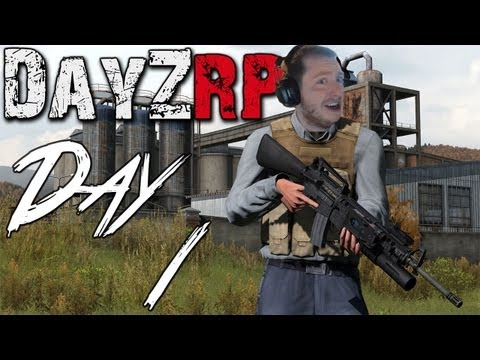 DayZRP Mod Let's Play - Day 1 - Mike the Taxi Driving Sea Captain