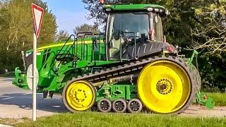 John Deere tractor 8370 RT! 1 of 4 in Europe! Farmers dream!