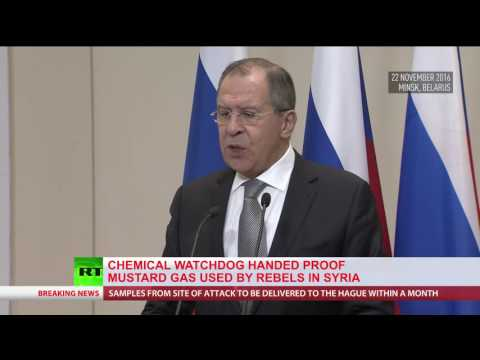 Syria hands over evidence of mustard gas attack by rebels on civilians to OPCW