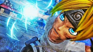 JUMP FORCE - NEW BORUTO VS KAGUYA GAMEPLAY! Boruto Uzumaki Combos & Skills Gameplay (1080p HD)