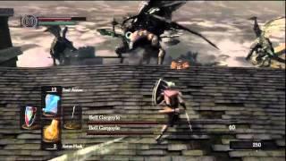 Dark Souls - Como Matar os Bell Gargoyles ( C/ Comentario) [HD]