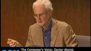 John Adams and Ara Guzelimian on Doctor Atomic