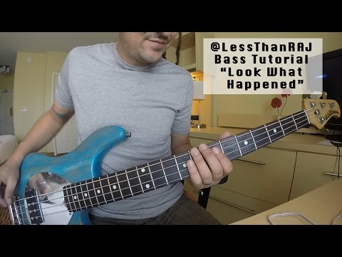 "Less Than Jake - Roger Lima - Bass Tutorial ""Look What Happened"" Vid 5"