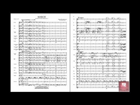 March from Suite for Variety Orchestra, No. 1 by Shostakovich/arr. James Curnow