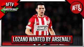 Suarez Girlfriend Drops Arsenal Move Hint & Lozano Wanted By Gunners! | AFTV Transfer Daily