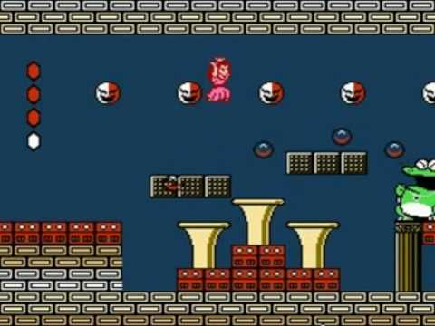 Super Mario Bros. 2 (NES) All Bosses beaten with Princess Peach & Ending -  YouTube