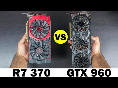 R7 370 vs GTX 960 - Graphics Card Comparison