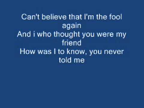 Westlife Fool Again Lyrics