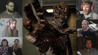 """""""Реакции Летсплейщиков"""" на Нападение Дедка из Resident Evil 7"""