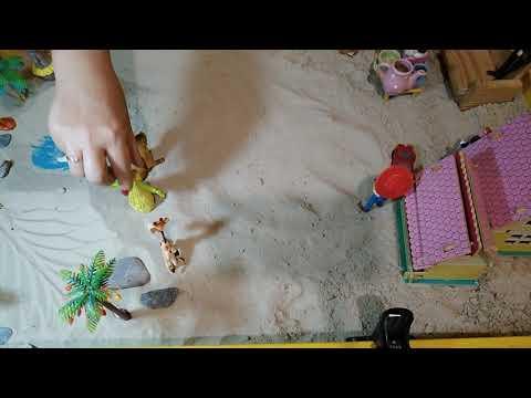 Индивидуальный сеанс в песочнице,Песочная терапия Юнга (Sandplay)часть1