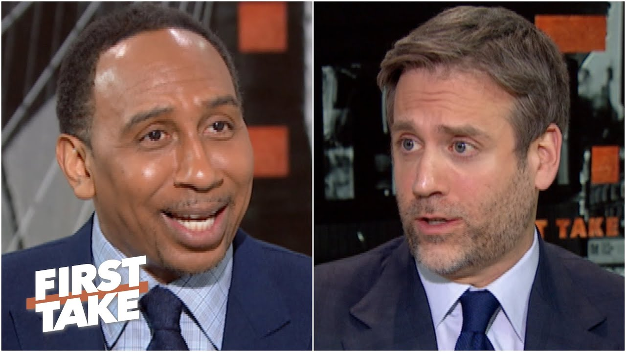 Download Stephen A. and Max lock in their picks for Super Bowl LV | First Take