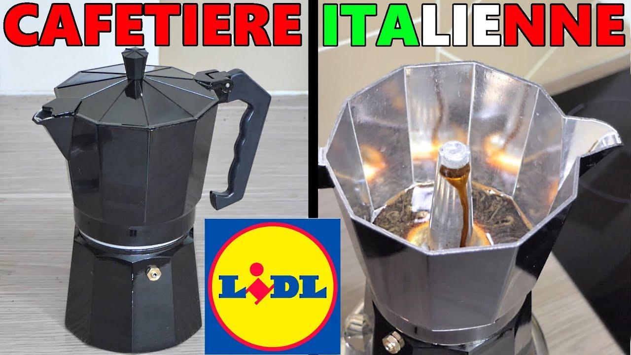 Cafetière Italienne Lidl Moulin à Café électrique Silvercrest Ernesto