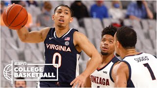 No. 1 gonzaga bulldogs vs. 16 virginia cavaliers [highlights] | espn college basketball