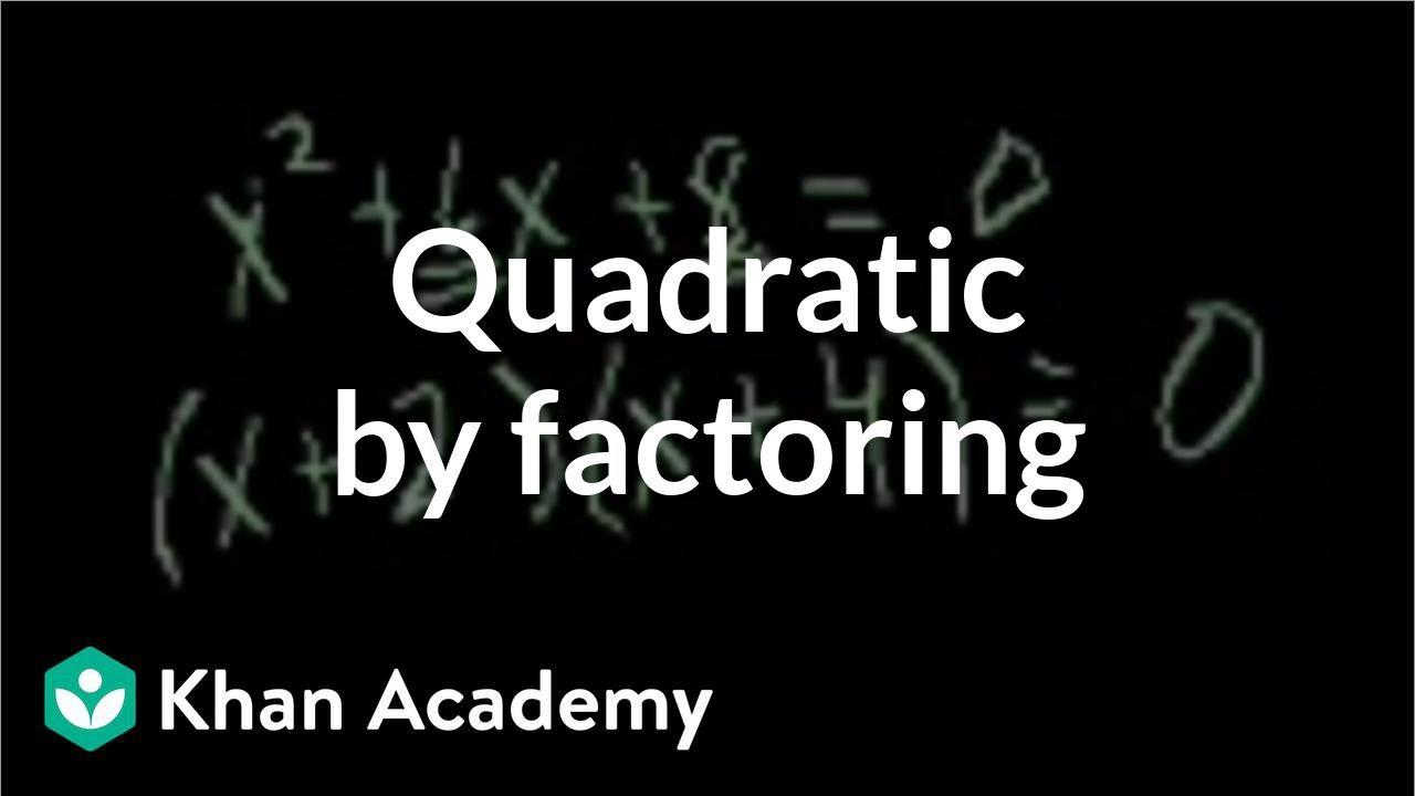 small resolution of Solving Quadratic Equations (solutions