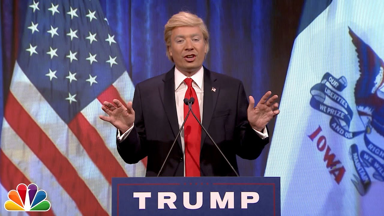 Image result for jimmy fallon trump impersonation  pictures