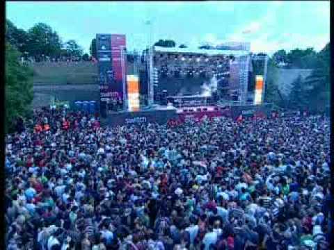 Richie Hawtin live at Exit Festival 007 dropping acid bomb Hertz - Acinium