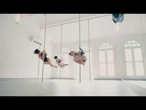 Contemporary Pole With Amandine Philippe At Milan Pole Dance Studio Singapore