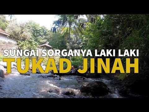 SUNGAI SORGANYA PARA LAKI LAKI - MANDI DITUKAD JINAH (bukan jalur gowes gadis desa mandi di sungai)