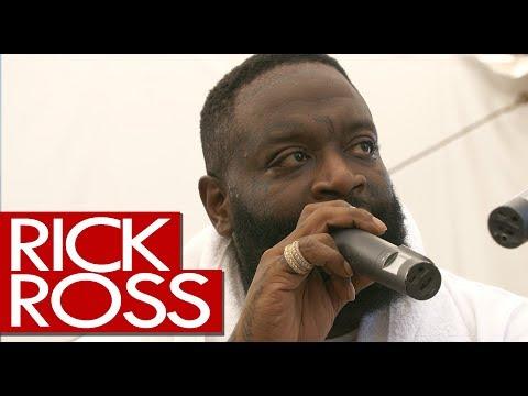 Rick Ross pears tattoo, new Meek Mill collab, Port of Miami 2 - backstage Wireless