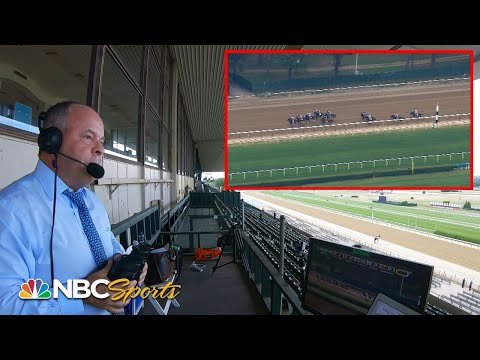 Belmont Stakes 2020: Watch Larry Collmus call Tiz the Law's historic win | NBC Sports
