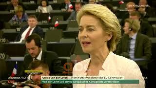 Ursula Von Der Leyen presidentja e pare e KE | ABC News Albania