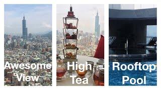 Shangri-La Luxury Hotel Stay in Taipei with High Tea | Taiwan Part 2