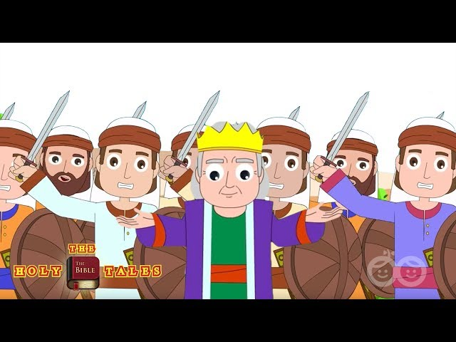 David and Absolom - Bible Stories For Children
