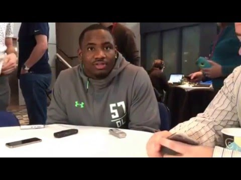 Lawrence Thomas Michigan State Spartans Defensive Tackle #NFLCombine