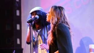 "Tamia Performing ""Officially Missing You"" Live at ""Love Life"" Album Release Event in NYC"
