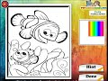 Finding Nemo Coloring Pages For Kids - Finding Nemo Coloring Pages Games