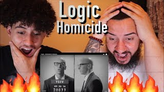 Logic - Homicide ft Eminem (Reaction) *Chris D'elia Caught A Body!!*