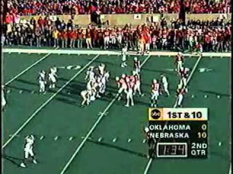 Oklahoma at #1 Nebraska - 1995 - Football