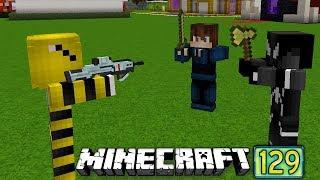 DOLANDIRICI KIZ ABUZİ İLE VENOMU KARPUZ GİBİ YARDI Minecraft Maceraları 129
