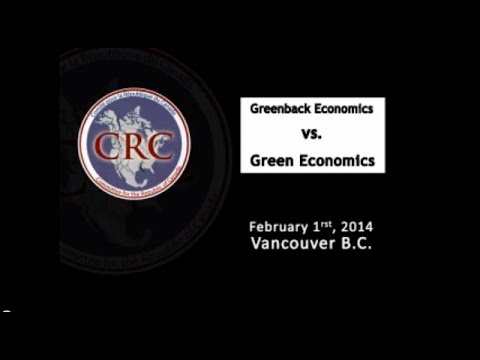 Greenback Economics vs. Green Economics