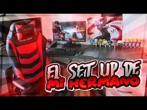 EL SET-UP GAMING DE MI HERMANO!