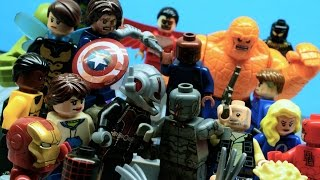 Lego Avengers and Fantastic 4 - FALLEN (PART 2/2)