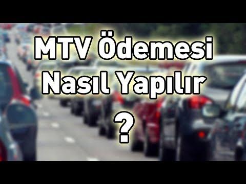 MTV ödemesi Nasıl Yapılır? (MTV Hesaplama)